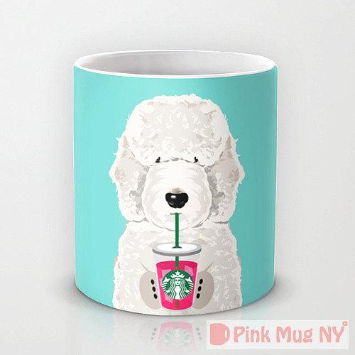 tazas perros bebiendo Starbucks 3