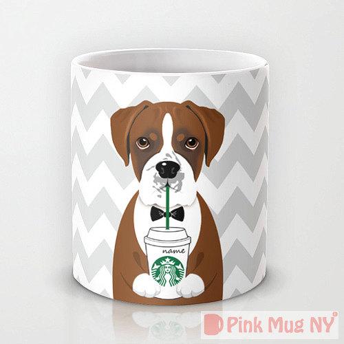 tazas perros bebiendo Starbucks 4