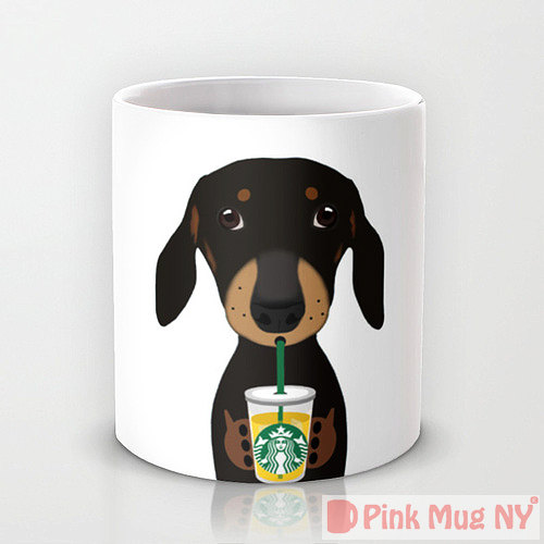 tazas perros bebiendo Starbucks 6