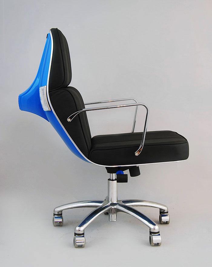 vespas convertidas en sillas de oficina 6