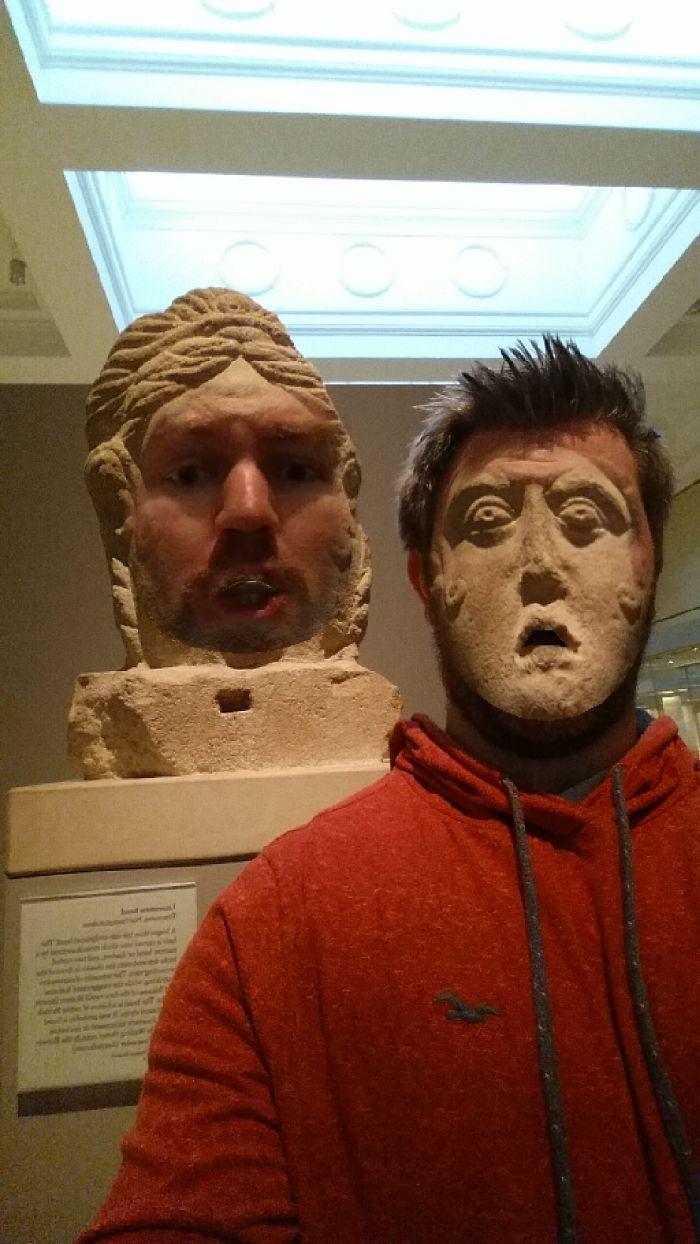 face swap museo britanico 11