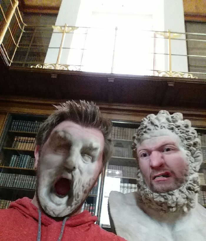 face swap museo britanico 2