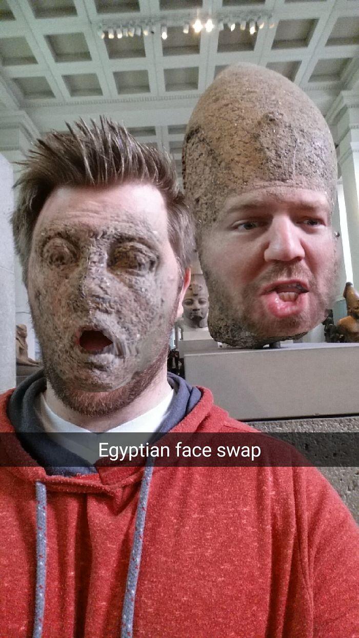 face swap museo britanico 3