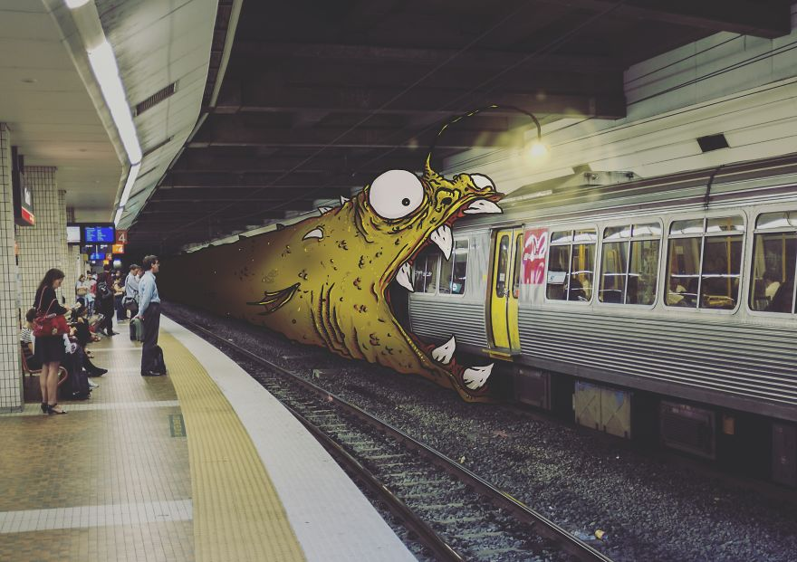 monstruos en fotos 1