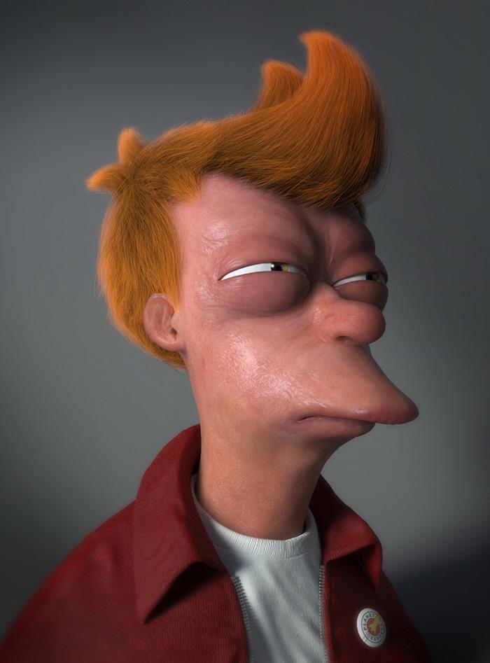 personajes dibujos animados reales 4