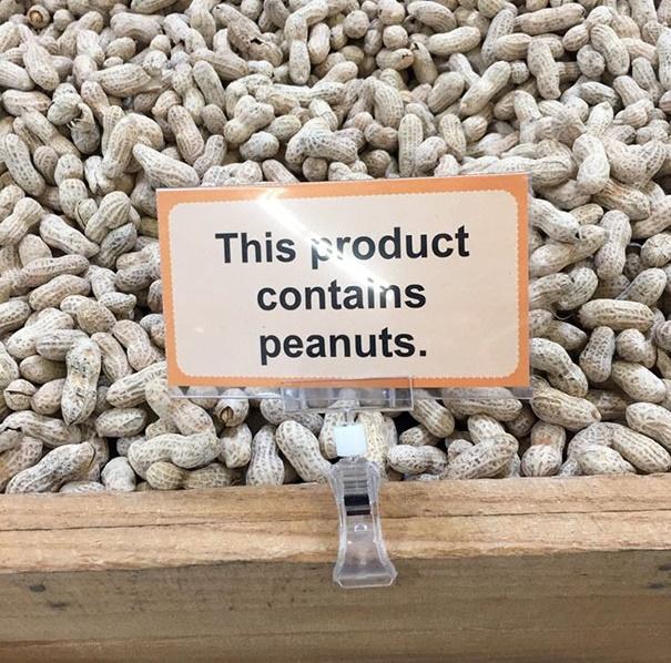producto contiene cacahuetes