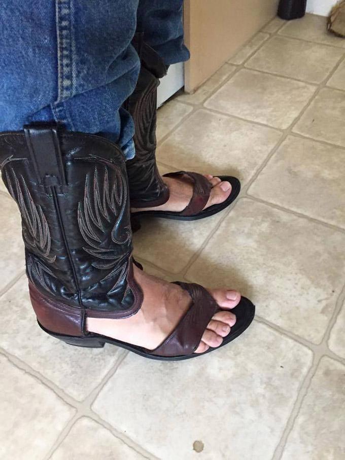 sandalias de cowboy 1