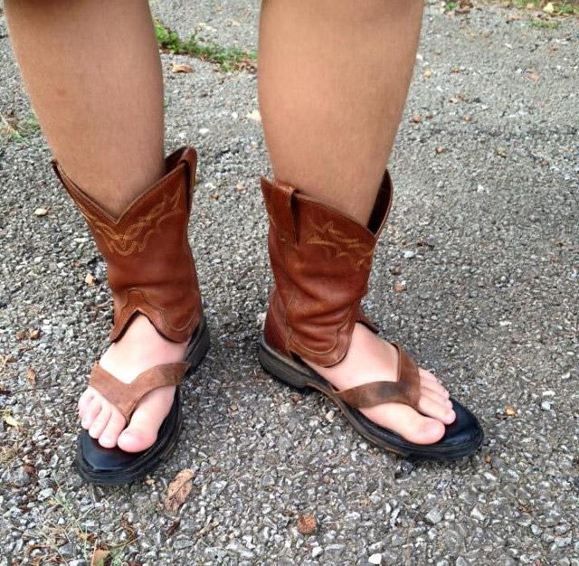 sandalias de cowboy 5