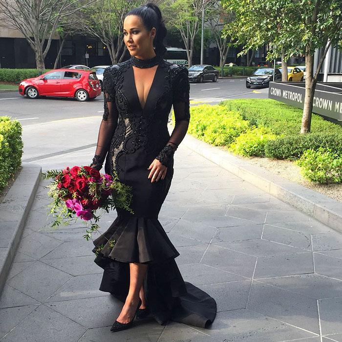 vestidos de boda negros 10