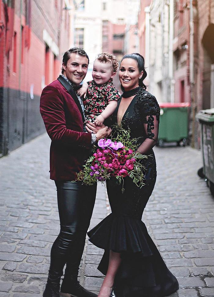 vestidos de boda negros 9