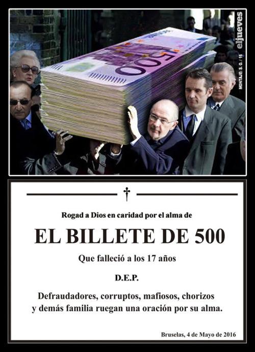 billete de 500