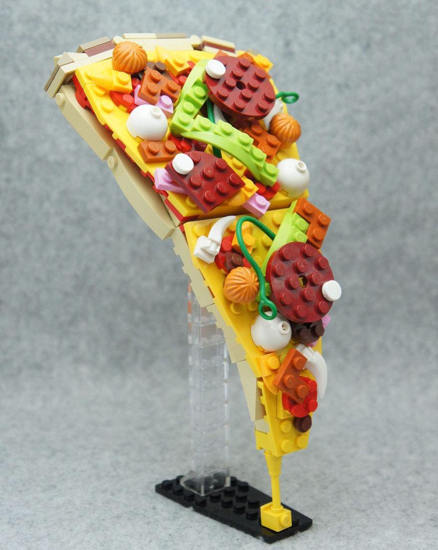 comida piezas LEGO 1