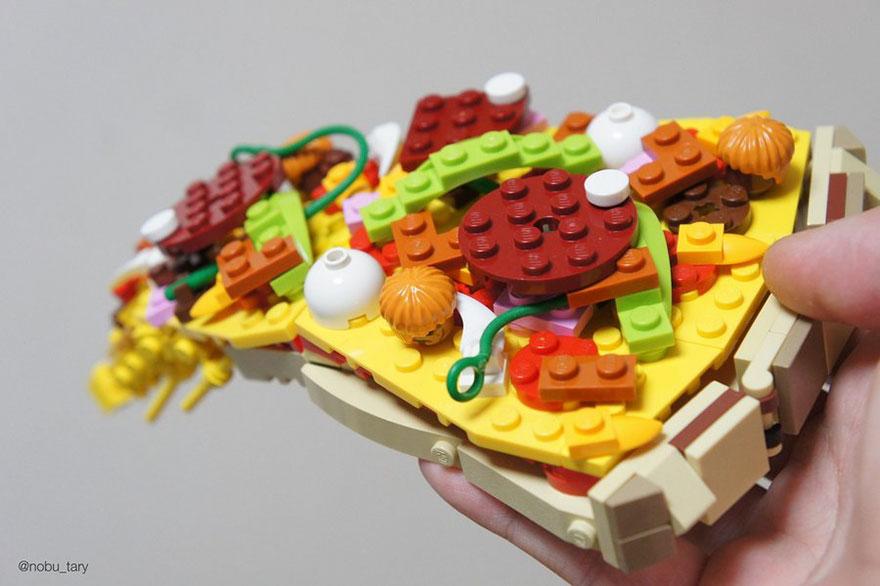 comida piezas LEGO 2
