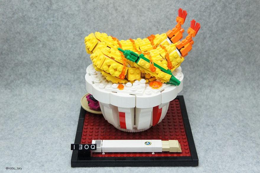 comida piezas LEGO 3