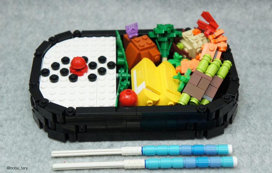 comida piezas LEGO 4
