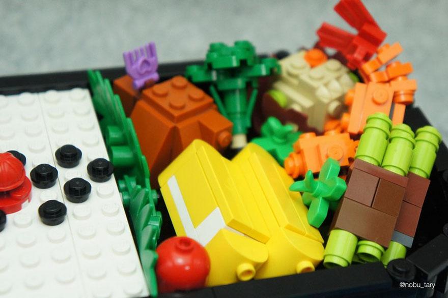 comida piezas LEGO 5