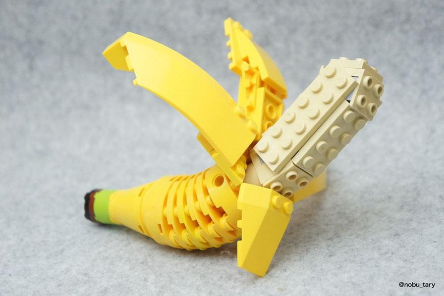 comida piezas LEGO 7