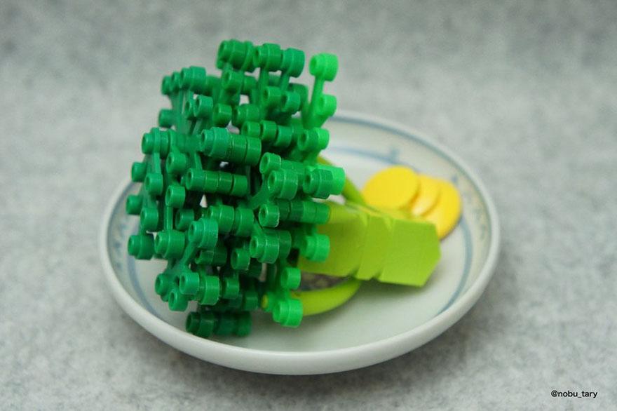 comida piezas LEGO 9