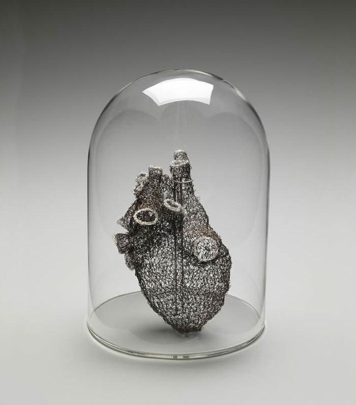 corazon de alambre 1