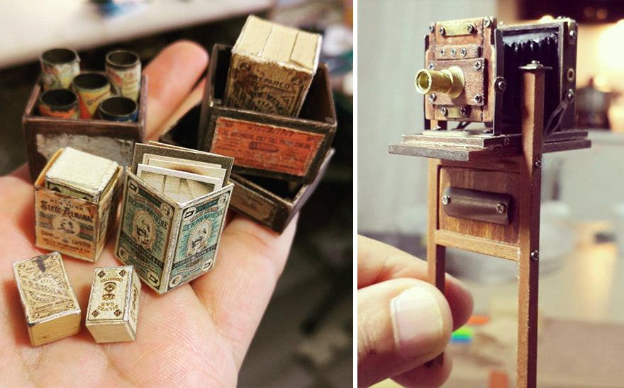 estudio fotografico en miniatura 11