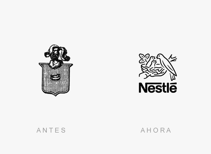 logos antes y ahora 12