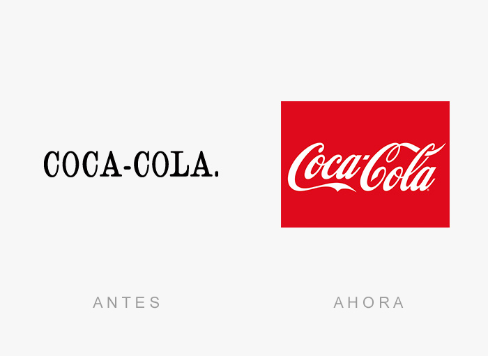 logos antes y ahora 15