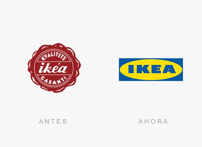 logos antes y ahora 16