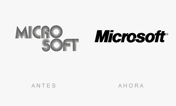 logos antes y ahora 6