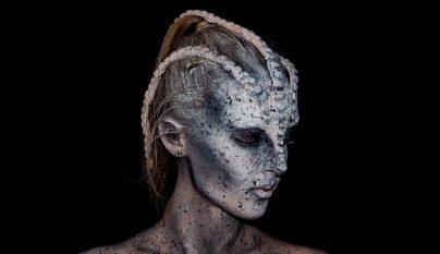 maquillaje aterrador 1