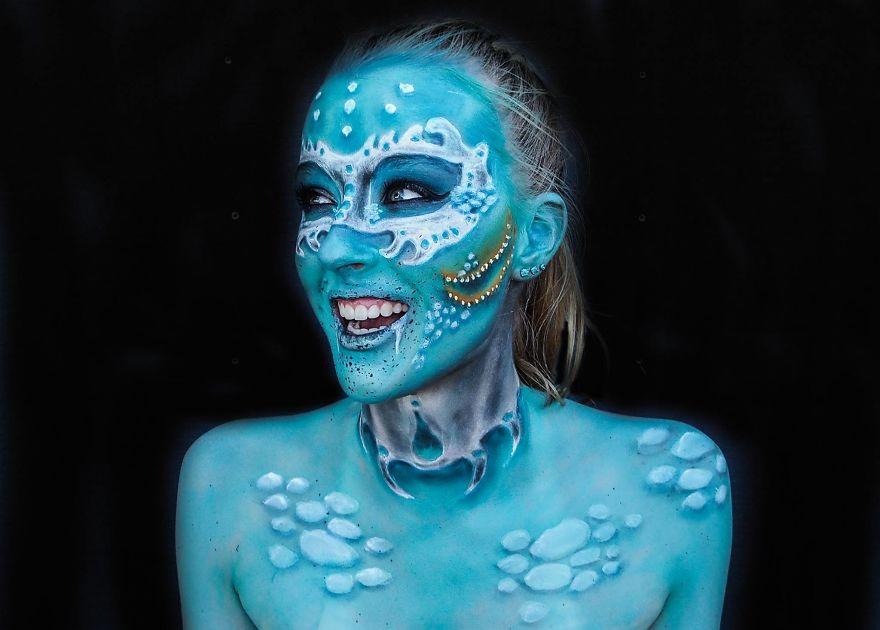 maquillaje aterrador 10