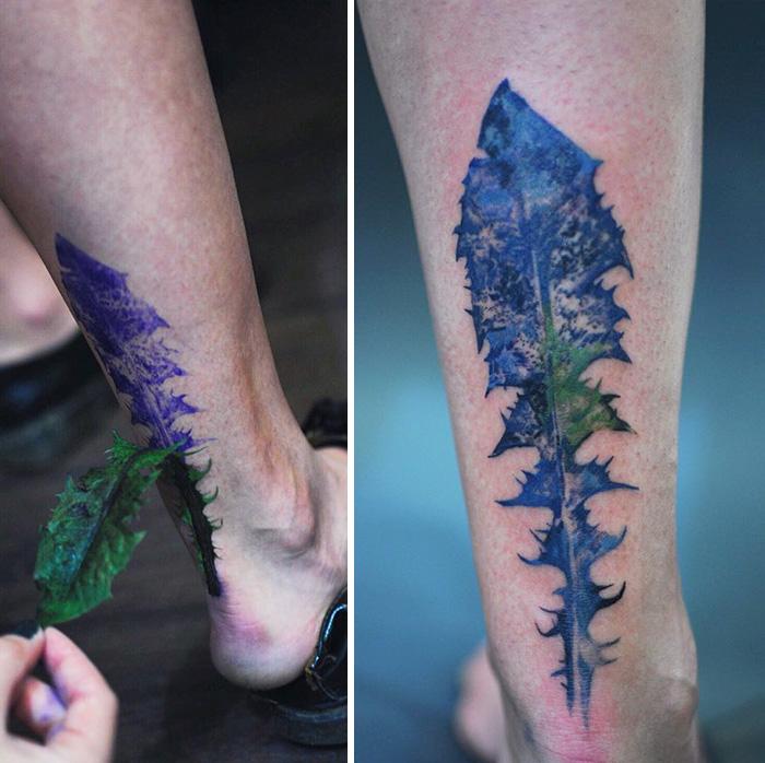 tatuajes botanicos 10