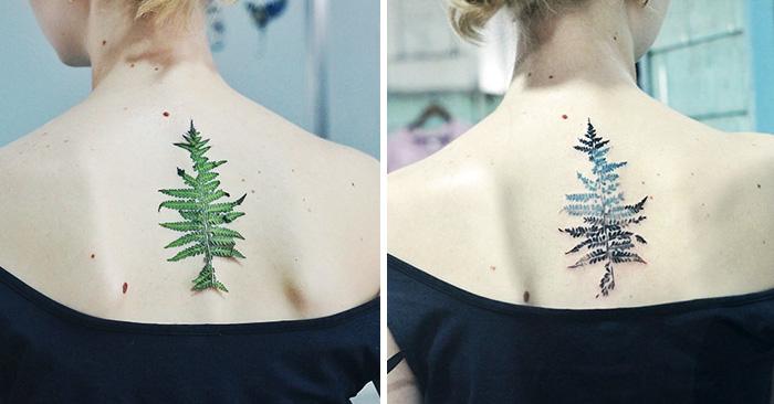 tatuajes botanicos 2