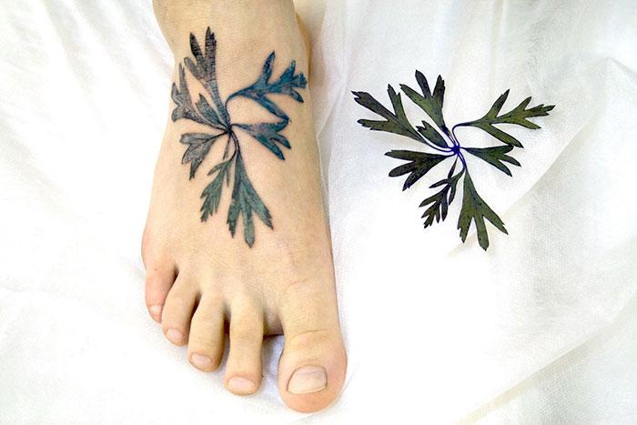 tatuajes botanicos 3