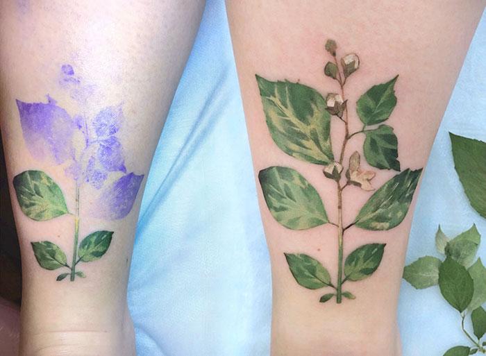 tatuajes botanicos 7