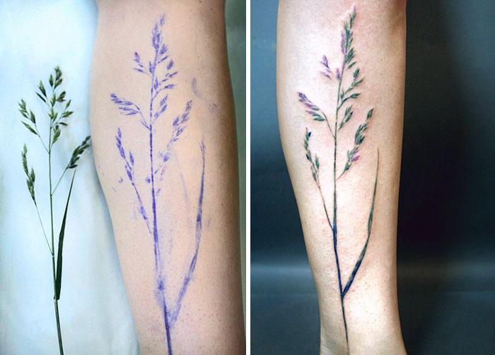 tatuajes botanicos 8