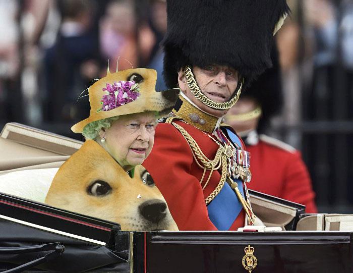 Isabel II fotomontajes 6