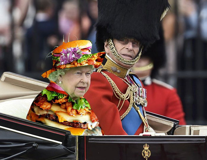 Isabel II fotomontajes 7