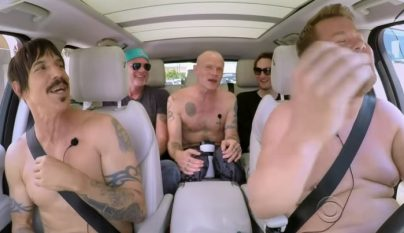 James Corden Red Hot Chili Peppers