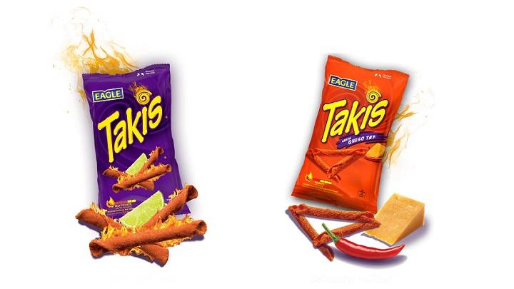 Takis lima y Takis queso