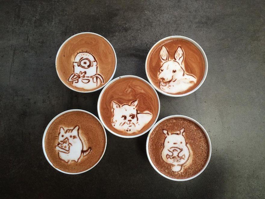 cafe dibujos 18
