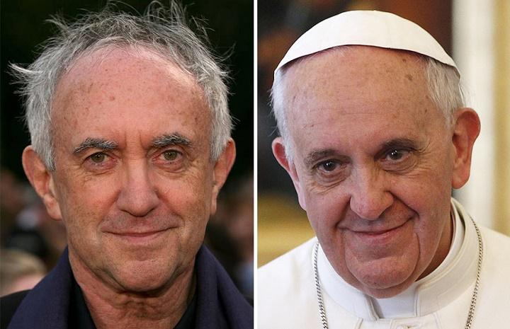 el gorrion supremo de juego de tronos es el papa francisco