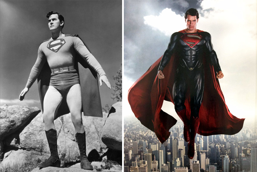 evolucion superheroes 4