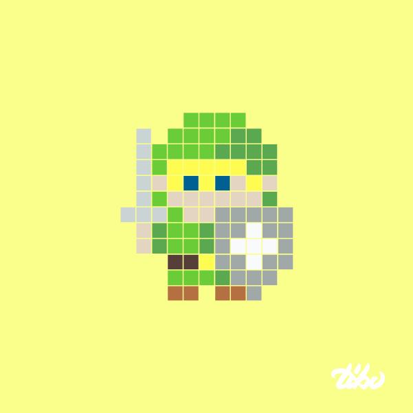 mini heroes pixelados 11