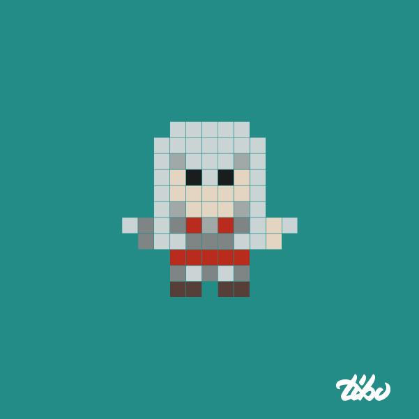 mini heroes pixelados 2