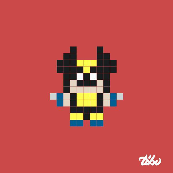 mini heroes pixelados 20