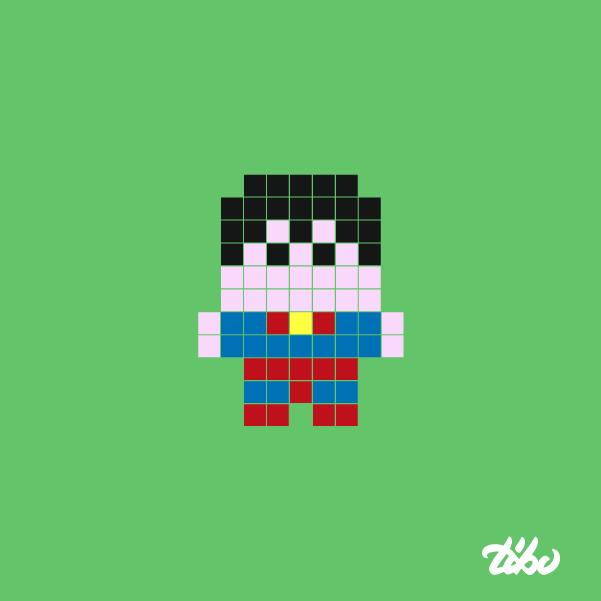 mini heroes pixelados 23