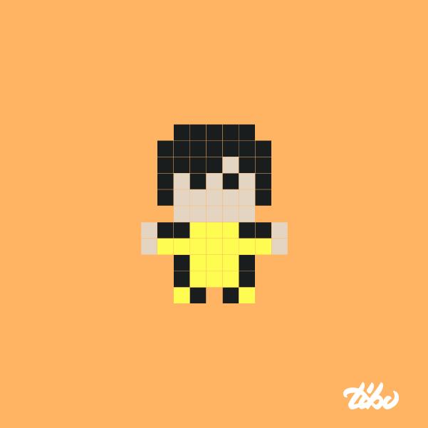 mini heroes pixelados 5