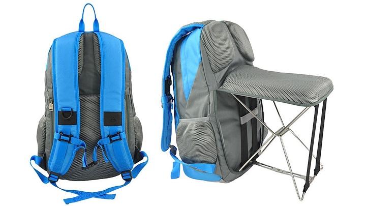 mochila con silla incorporada