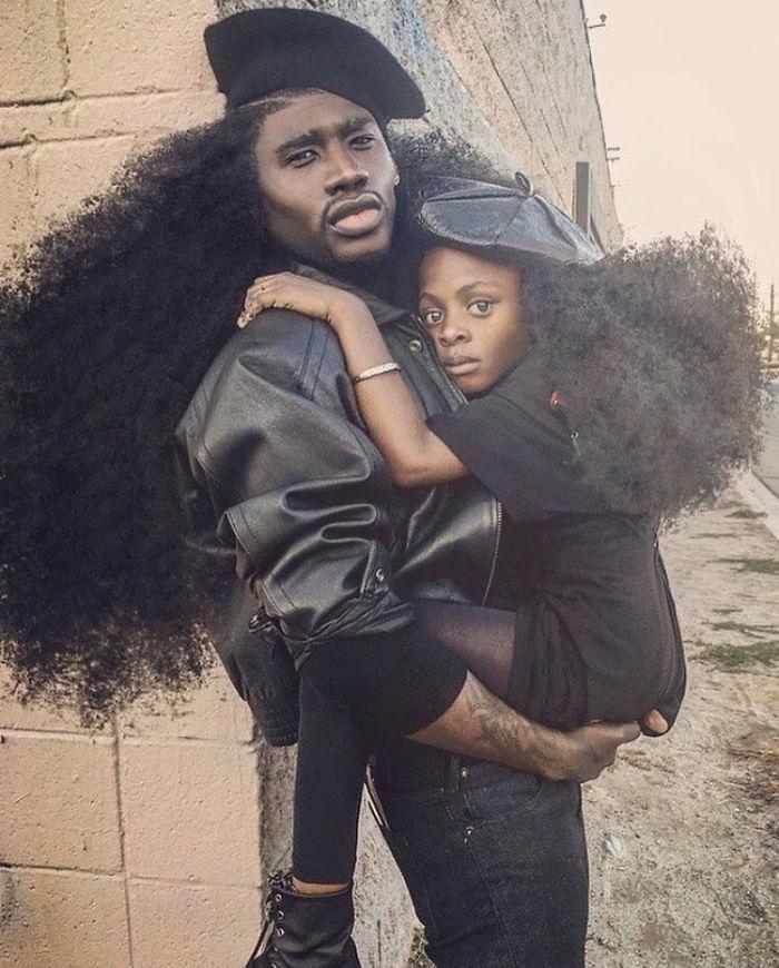 peinados afro 1