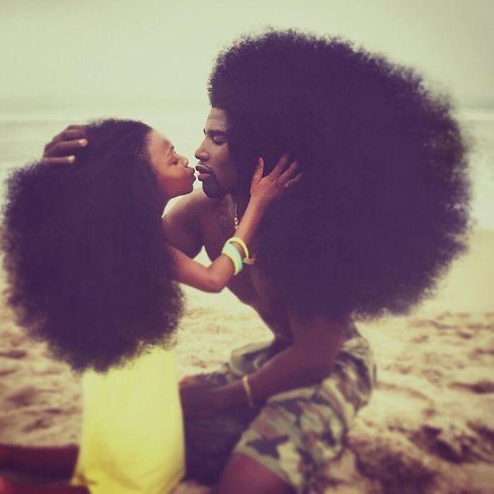 peinados afro 2